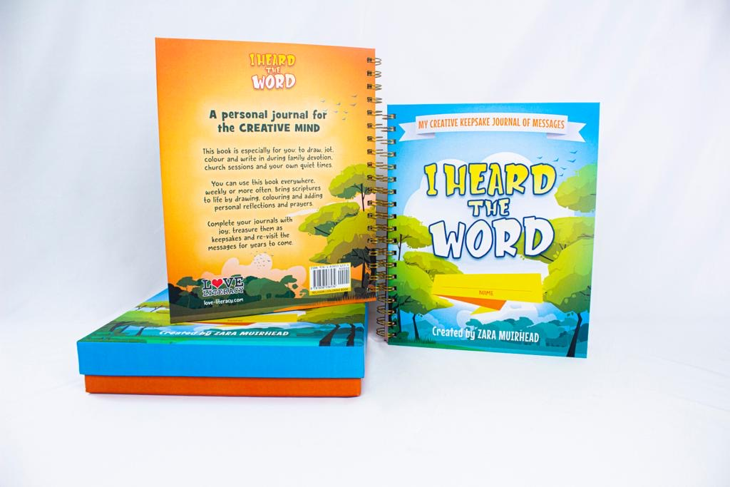 Creative Journal Book:        I Heard the Word